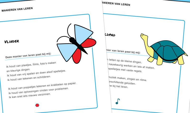 Ninico Kindercoachmaterialen - 'Ik leer leren' werkbladen